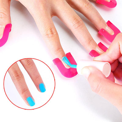 Overflow Resistive Nail Polish Guard