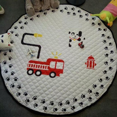 Padded Drawstring Crawling Play Mat