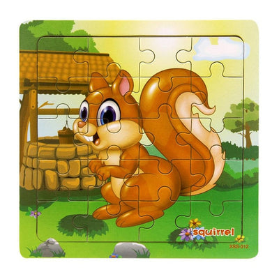 Fun Kids Puzzles With Animals
