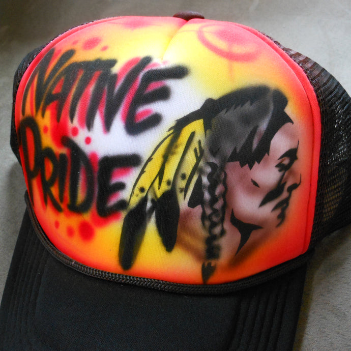 Native Pride Airbrush Hat