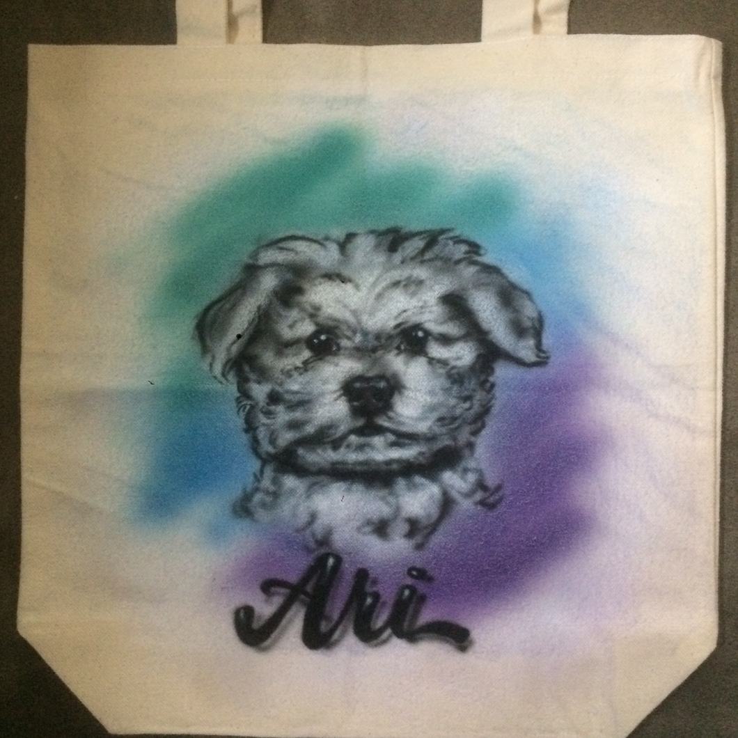 Your Dog on a Tote Bag
