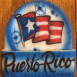 Flag Airbrush Hat