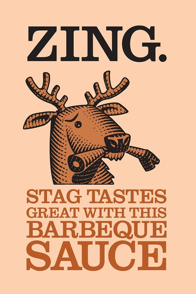 ZING BBQ Sauce 330g Bottle