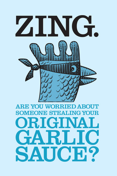 ZING Original Garlic Sauce 330g Bottle