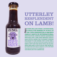 ZING Smoked Garlic Sauce 330g Bottle