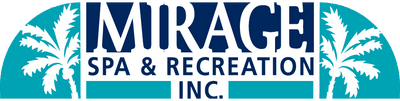 This is the mirage spa logo, clicking on it also sends you to the home page