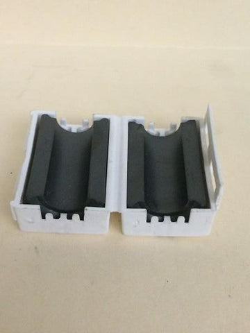 Ferrite snap-on cores for LED box