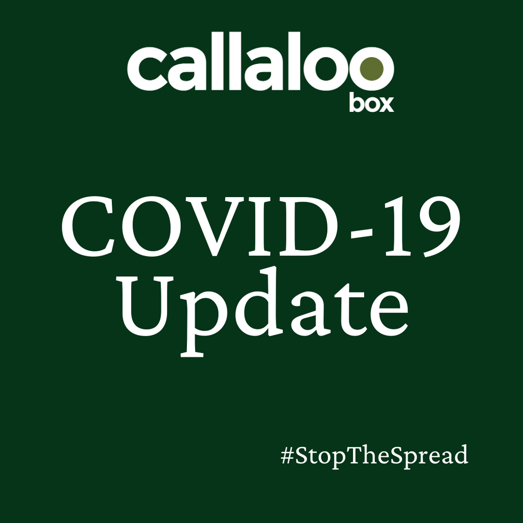 An update about COVID-19