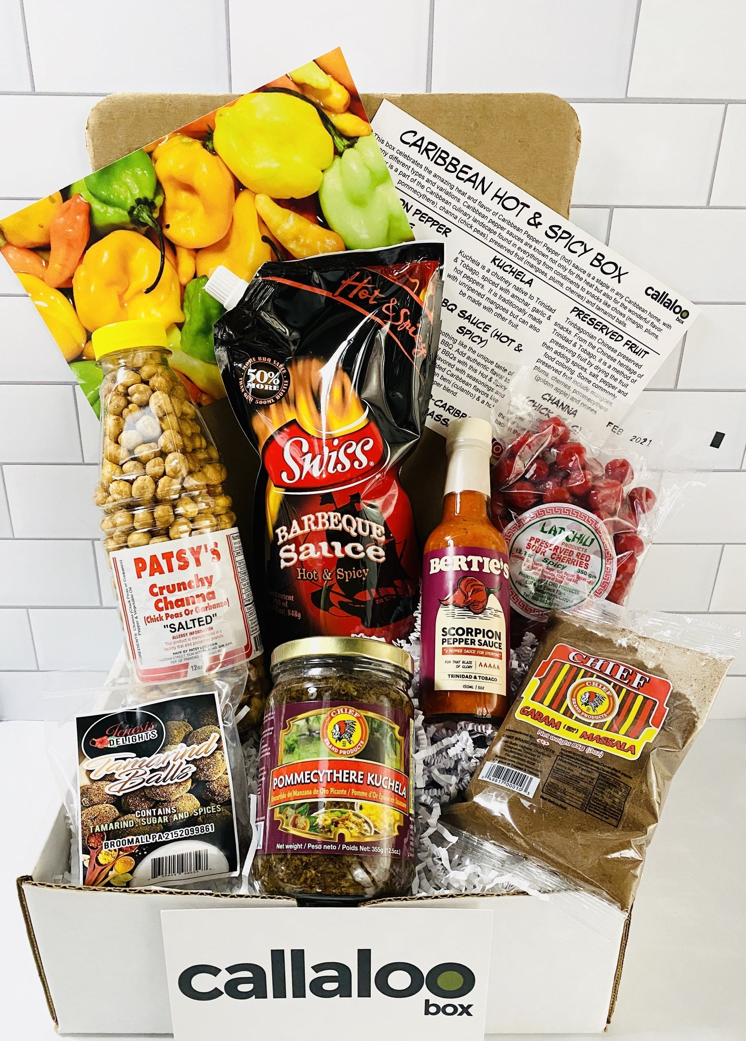 August 2020 - The Caribbean Hot & Spicy Box