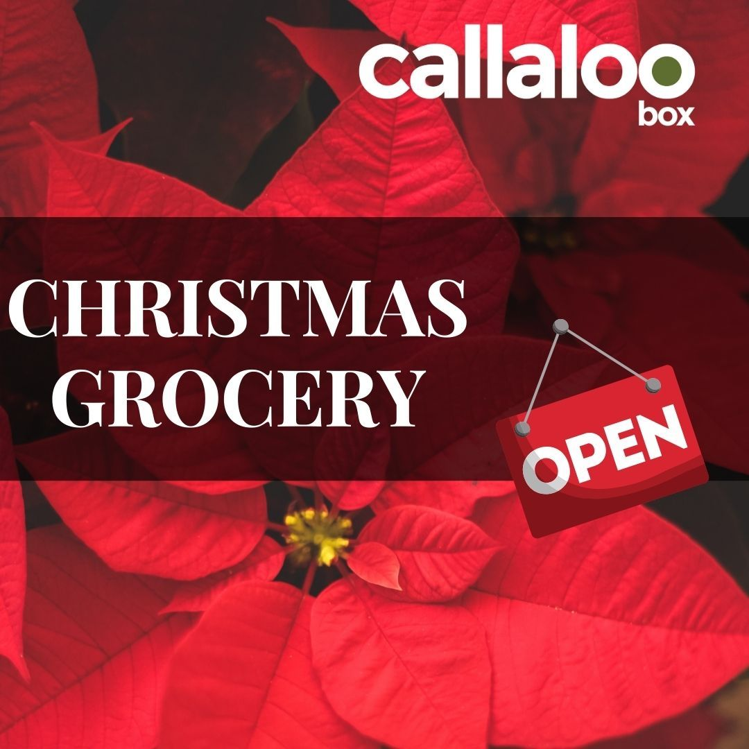 Callaloo Box Christmas Grocery