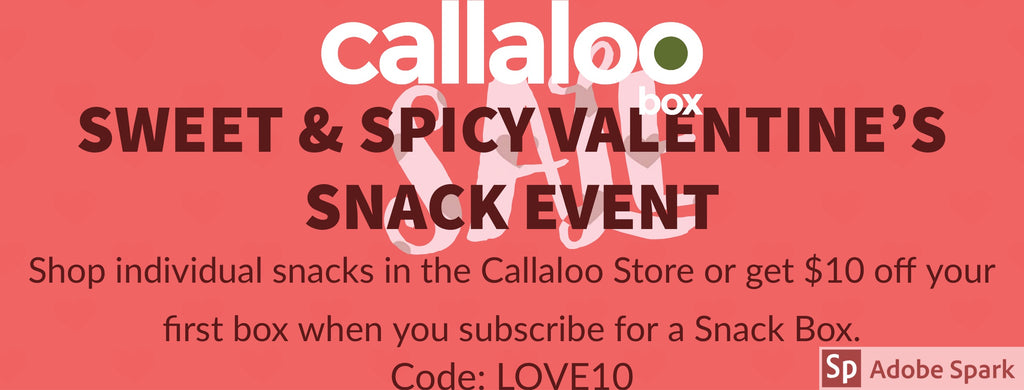 Callaloo Box Valentine's Snack Event