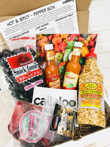 August 2019 Box Reveal - Hot & Spicy - Pepper Box