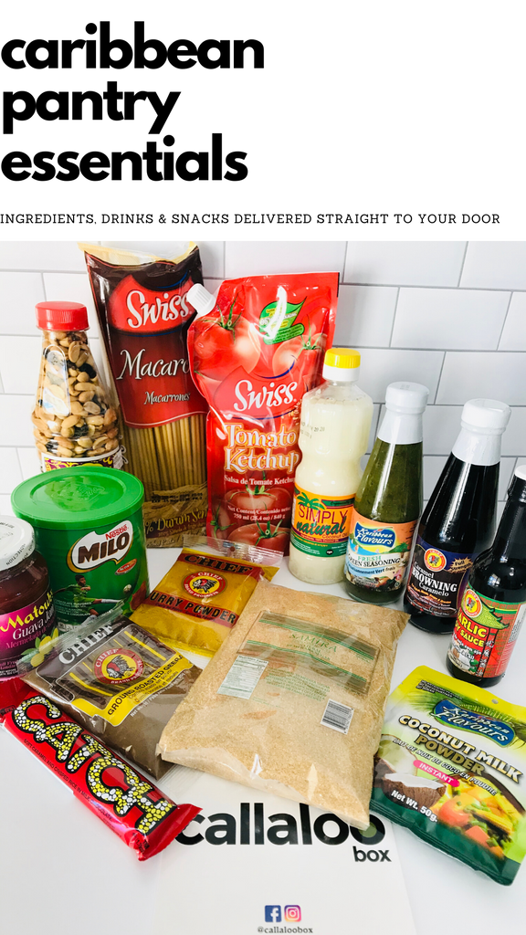 Caribbean Pantry Essentials