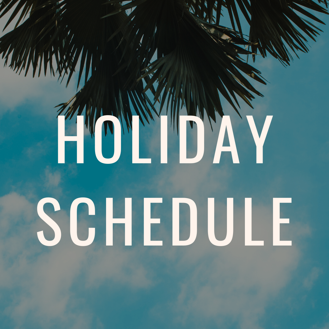 Callaloo Box Holiday Schedule 2019