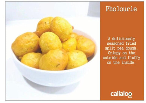 Callaloo Box A Taste of the Caribbean Pholourie Recipe
