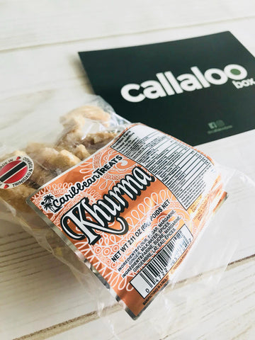 Callaloo Box Caribbean Treats Khurma Indo Trinbagonian Diwali Box subscription box Caribbean online grocery