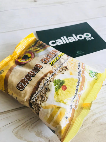 Callaloo Box Chief Ground Channa Chick Peas Indo Trinbagonian Diwali Box subscription box Caribbean online grocery