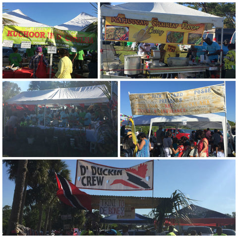 Callaloo Box Karibbean Flavours International Curry Festival