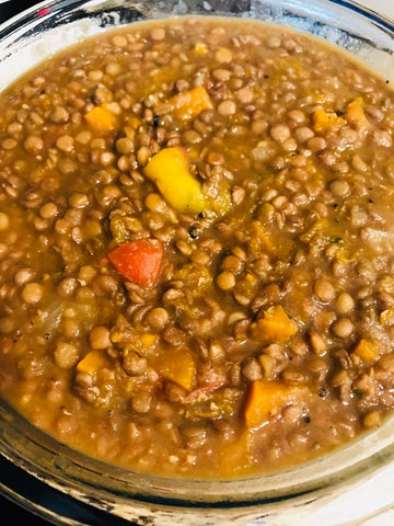 Callaloo Box simple lentils recipe