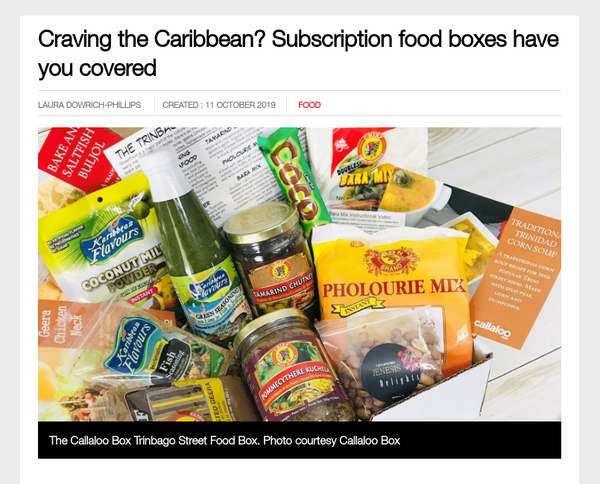 calllaoo box loop tt craving the caribbean? subscription food boxes have you covered