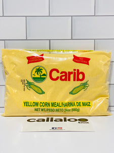 Callaloo Box Trinidad & Tobago Subscription Box Caribbean Online Grocery_Carib Brand Yellow Corn Meal_Single