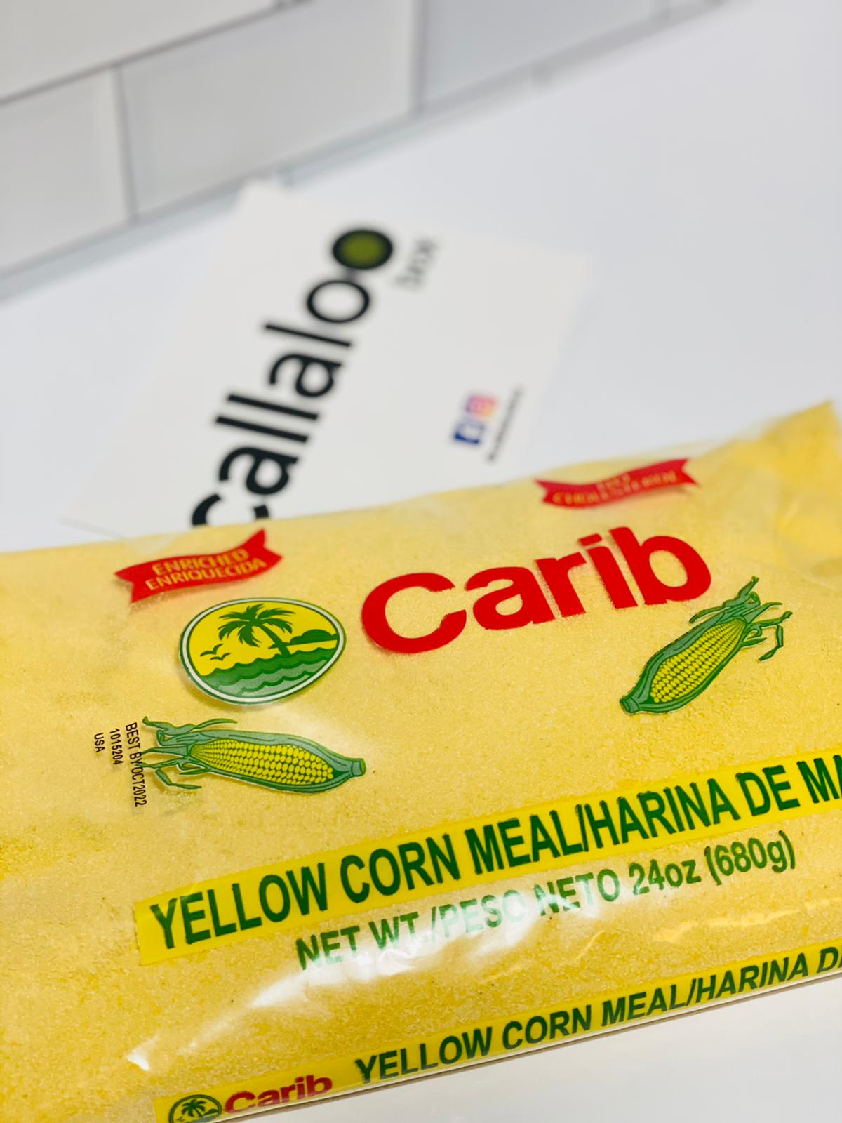 Callaloo Box Trinidad and Tobago Caribbean subscription box service Caribbean Online grocery_Carib Brand Yellow Corn Meal
