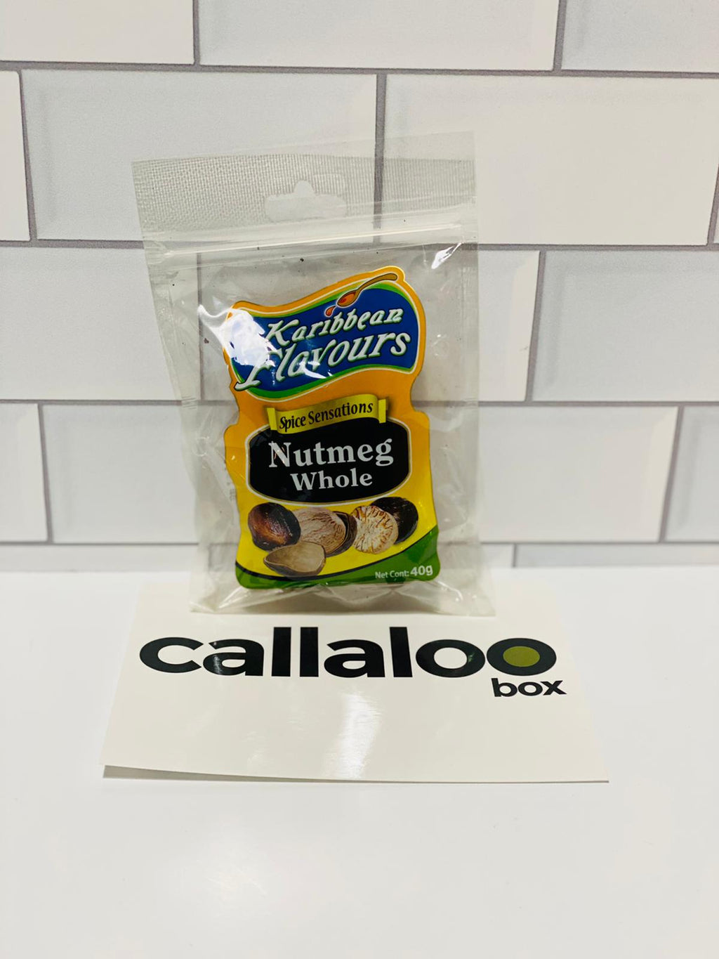 Callaloo Box Trinidad and Tobago Caribbean subscription box service Caribbean Online grocery_Karibbean Flavours Whole Nutmeg