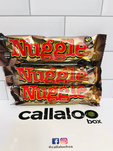 Callaloo Box Trinidad and Tobago Subscription Box Caribbean Online Grocery_2020.04_Nuggle Peanuts, chewy fudge, creamy caramel in milk chocolate_3 Pack
