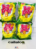 Holiday Snacks Big Foot Cheese Snack - 25g (Pack of 4)