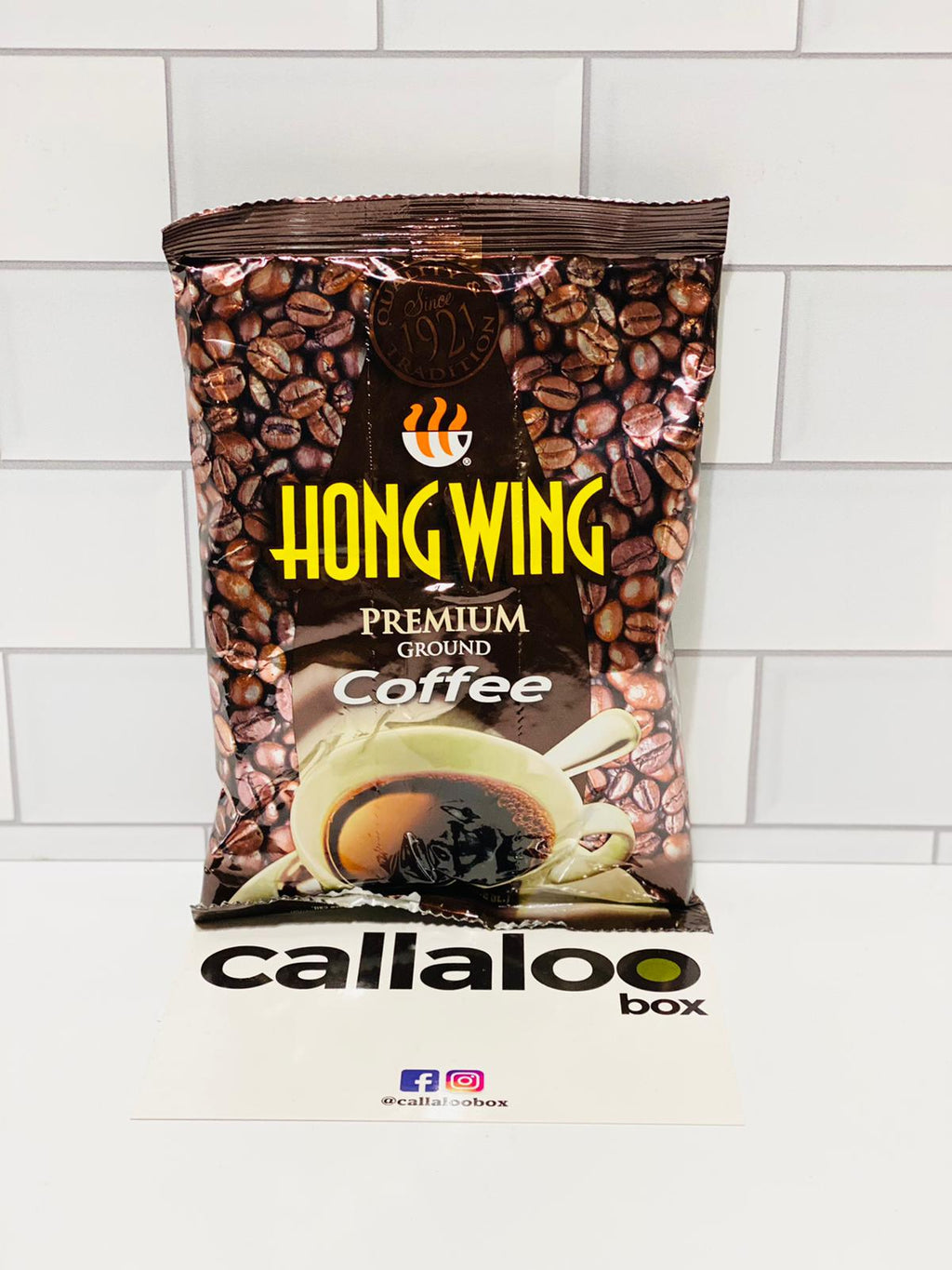 Callaloo Box Trinidad and Tobago Subscription Box Caribbean Online Grocery_Hong Wing Premium Ground Coffee_6.5oz_Single_2021.03