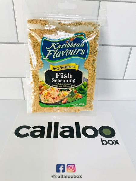 Callaloo Box Trinidad and Tobago Subscription Box Caribbean Online Grocery_Karibbean Flavours Spice Sensations Fish Seasonings_1
