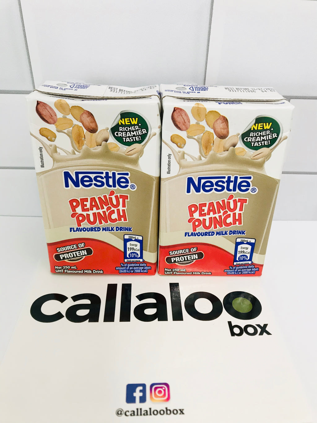 Callaloo Box Trinidad and Tobago Subscription Box Caribbean Online Grocery_Nestle Peanut Punch_2pack