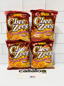 Callaloo Box Trinidad and Tobago Subscription Box Caribbean Online Grocery_Sunshine Snacks Chee Zees Original - 45g_Pack of 4