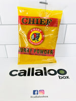 Callaloo Box Trinidad and Tobago Subscription Box Service Online Grocery Caribbean Seafood Box_03.2020_CHIEF Curry Powder 3oz_1