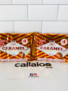 Callaloo Box Trinidad and Tobago Subscription Box Service Online Grocery Trinidad and Tobago Snacks Box_05.2020_Tunnock's Milk Chocolate Caramel Wafer Biscuits_2 Pack