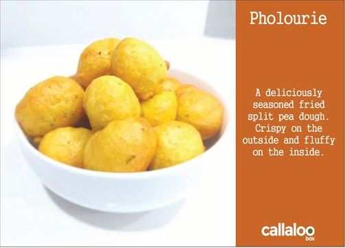 A Taste of The Caribbean's Pholourie Recipe Card