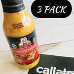 Callaloo Box Baron West Indian Hot Sauce 14oz Trinidad and Tobago subscription box Caribbean online grocery_pack of 3