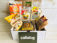 Callaloo Box Caribbean Indian snack box chief doubles bara mix chief pholourie mix