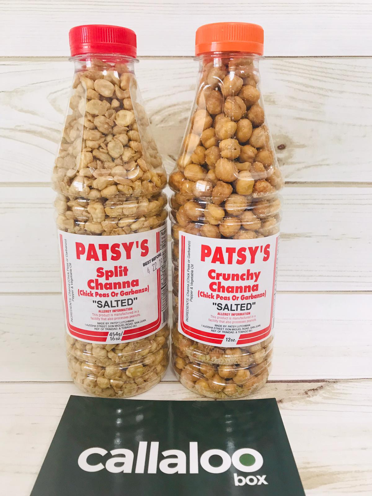 Patsy's Channa (Chick Peas) Sampler -16oz - Pack of 2