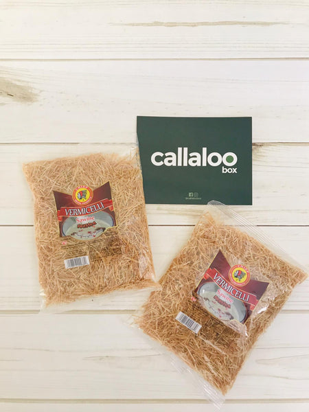 Callaloo Box Trinidad Tobago Caribbean Subscription Box Online Grocery Chief Vermicelli pack of 2