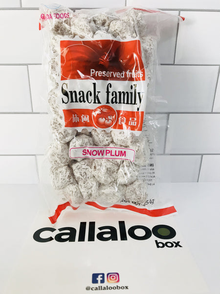 Callaloo Box Trinidad Tobago Snacks Online Caribbean Grocery_ Snack Family Preserved Fruit Snow Plum 1lb_2020.02