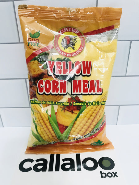 Callaloo Box Trinidad Tobago Subscription Box Caribbean Online Grocery_Chief - Yellow Corn Meal