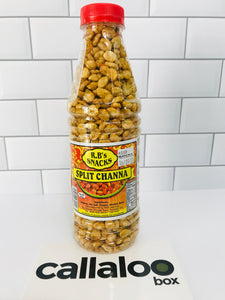 R.B's Snacks Split Channa (Spicy)- 14oz