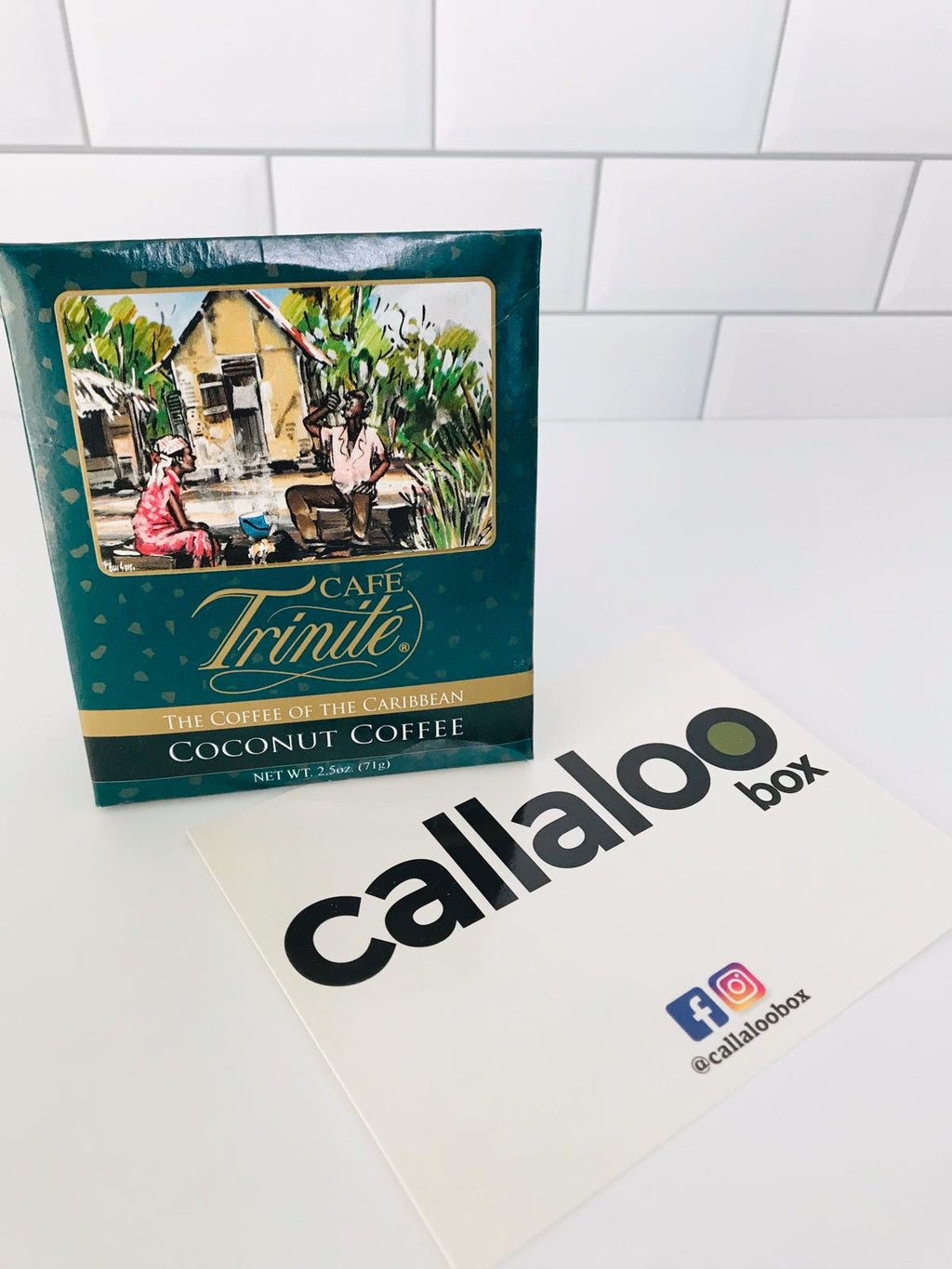 callaloo box trinidad and tobago subscription box caribbean online grocery cafe trinite coconut flavored coffee