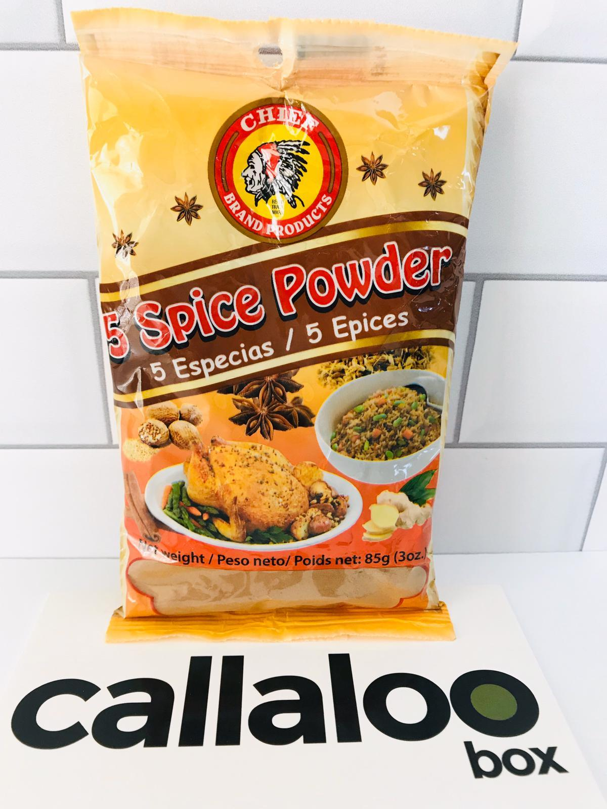 Callaloo Box Chief Chinese 5 spice seasoning Trinidad and Tobago Subscription Box Caribbean Online Grocery