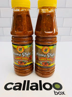 Callaloo Box Trinidad Tobago Subscription Box Caribbean Online Grocery_Chief - Home Style Pepper Sauce - 2 pack