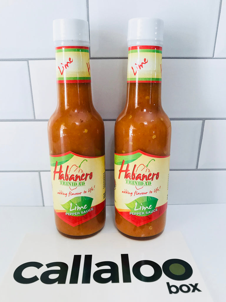 Callaloo Box Trinidad and Tobago Subscription Box Caribbean Online Grocery_Habanero Trinidad Lime Pepper Sauce - 2 Pack
