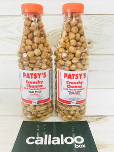 Patsy's Crunchy Whole Channa (Chick Peas) - 12oz