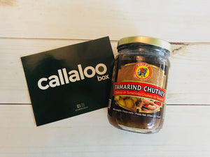 The Sweet and Spicy Box by Callaloo box tamarind chutney