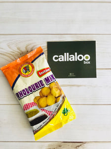 callaloo box Chief pholourie mix + CHIEF mango chutney dip trinidad and tobago online grocery